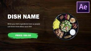 Food Menu Promo