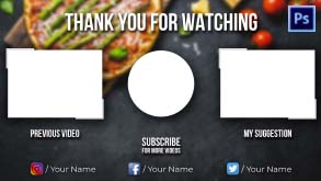 Cooking channel End Screen #