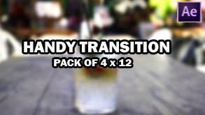 Handy Transition Pack of 4 (x12)