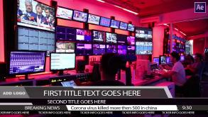 News Lower Third Ticker – After Effects Template
