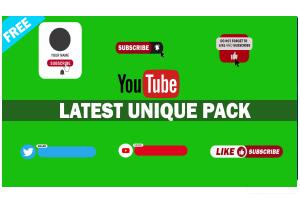Green Screen YouTube Starter Pack #2