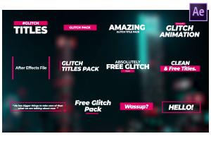 Glitch Title Pack #1