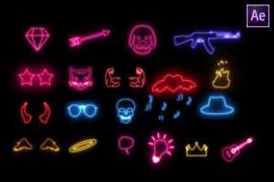 Glow Fx Pack Of 20 #2