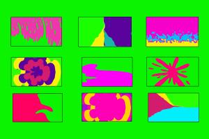 Green-screen-Cartoon-transitions