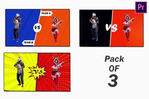 Versus Fight Battle Screen