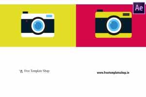 Camera-Click-Logo-Reveal-template