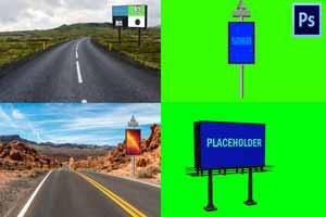 Billboard Photoshop Mockup