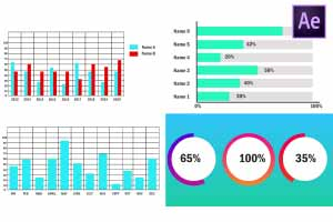 infographic graphs template