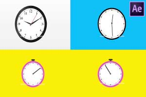 Clock Count Down -Pack of 3