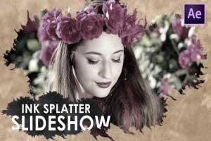Ink Splatter Slideshow