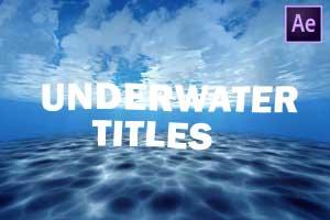 UnderWater Title Intro