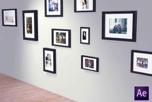 3D Photo Frames template
