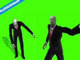 Slenderman Green Screen Animation